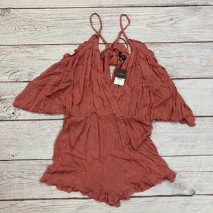 Primary Photo - BRAND: TOP SHOP STYLE: DRESS SHORT SHORT SLEEVE COLOR: DUSTY PINK SIZE: L OTHER INFO: ROMPER SKU: 257-25774-13469