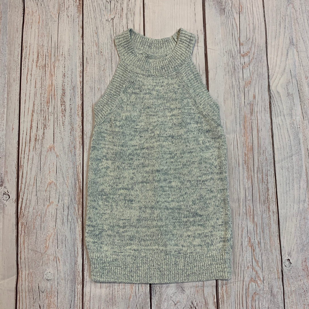 Primary Photo - BRAND: ANN TAYLOR LOFT <BR>STYLE: TOP SLEEVELESS <BR>COLOR: LIGHT BLUE <BR>SIZE: XXS <BR>OTHER INFO: KNITTED <BR>SKU: 217-217104-33962