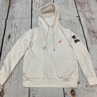 Primary Photo - BRAND: NAUTICA STYLE: ATHLETIC JACKET COLOR: WHITE SIZE: S SKU: 217-217182-10172