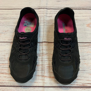 Primary Photo - BRAND: SKECHERS STYLE: SHOES ATHLETIC COLOR: BLACK SIZE: 7 SKU: 217-217182-7534