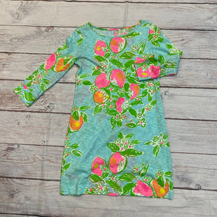Primary Photo - BRAND: LILLY PULITZER STYLE: DRESS SHORT LONG SLEEVE COLOR: FLORAL SIZE: S SKU: 217-217182-9250