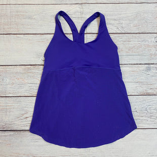 Primary Photo - BRAND: NEW BALANCE STYLE: ATHLETIC TANK TOP COLOR: PURPLE SIZE: L SKU: 217-217153-8127