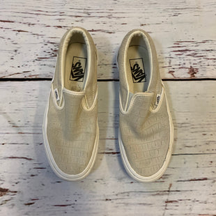 Primary Photo - BRAND: VANS STYLE: SHOES ATHLETIC COLOR: TAUPE SIZE: 7.5 SKU: 217-217153-8425