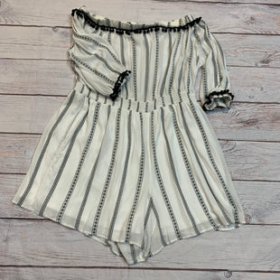 Primary Photo - BRAND: LANE BRYANT STYLE: DRESS SHORT LONG SLEEVE COLOR: WHITE BLACK SIZE: 2X OTHER INFO: 24 ROMPER SKU: 217-217104-32774
