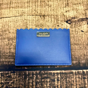 Primary Photo - BRAND: KATE SPADE STYLE:  CM LABEL COLOR: BLUE OTHER INFO: ID/ CARD HOLDER SKU: 217-217182-4083