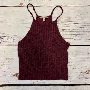 Primary Photo - BRAND: EXPRESS STYLE: TOP SLEEVELESS BASIC COLOR: MAROON SIZE: M SKU: 217-217167-1923