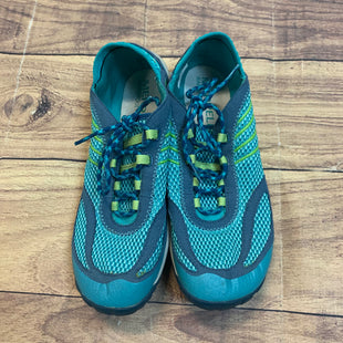Primary Photo - BRAND: MERRELL STYLE: SHOES ATHLETIC COLOR: TEAL SIZE: 8.5 SKU: 217-217182-4332
