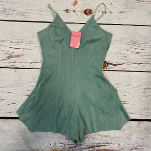 Primary Photo - BRAND: BLUSH STYLE: DRESS SHORT SLEEVELESS COLOR: GREEN SIZE: S OTHER INFO: ROMPER SKU: 217-217196-827