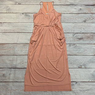 Primary Photo - BRAND: BCBG STYLE: DRESS LONG SLEEVELESS COLOR: PEACH SIZE: L SKU: 217-217144-9294