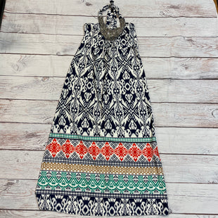 Primary Photo - BRAND: MAGIC STYLE: DRESS LONG SLEEVELESS COLOR: PRINT SIZE: M OTHER INFO: BLUE WHTE ORANGE GREEN SKU: 217-217104-28918