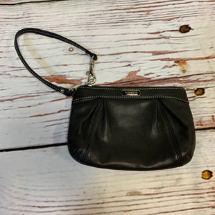 Primary Photo - BRAND: COACH STYLE: WRISTLET COLOR: BLACK SKU: 217-217104-37912
