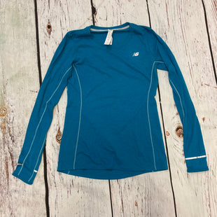 Primary Photo - BRAND: NEW BALANCE STYLE: ATHLETIC TOP COLOR: TEAL SIZE: M SKU: 217-217144-1892