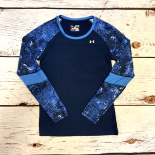 Primary Photo - BRAND: UNDER ARMOUR STYLE: ATHLETIC TOP COLOR: NAVY SIZE: XS SKU: 217-217155-4887