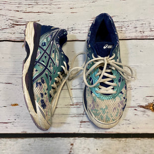 Primary Photo - BRAND: ASICS STYLE: SHOES ATHLETIC COLOR: TEAL SIZE: 8 SKU: 217-217196-625