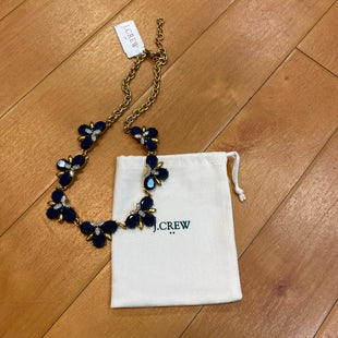 Primary Photo - BRAND: J CREW STYLE: NECKLACE COLOR: GOLD OTHER INFO: NAVY SKU: 217-217182-1161