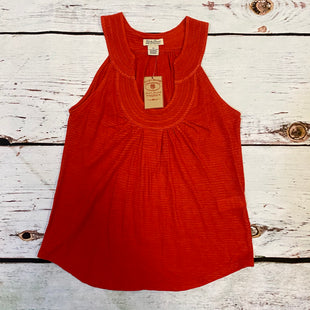 Primary Photo - BRAND: LUCKY BRAND STYLE: TOP SLEEVELESS COLOR: RED SIZE: XS OTHER INFO: NEW! $49.50 SKU: 217-217104-39394
