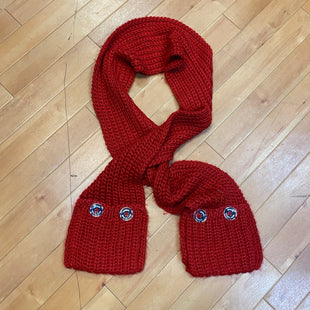 Primary Photo - BRAND: MICHAEL BY MICHAEL KORS STYLE: SCARF WINTER COLOR: RED OTHER INFO: SILVER BUTTONS SKU: 217-217104-32568