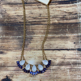 Primary Photo - BRAND: ADRIENNE VITTADINI STYLE: NECKLACE COLOR: GOLD OTHER INFO: NEW! BLUE SKU: 217-217182-2213