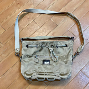 Primary Photo - BRAND: COACH STYLE: HANDBAG DESIGNER COLOR: MONOGRAM SIZE: SMALL OTHER INFO: BEIGE SKU: 217-217182-5206