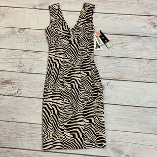 Primary Photo - BRAND: SNAP STYLE: DRESS LONG SLEEVELES COLOR: ZEBRA PRINT SIZE: 3 OTHER INFO: NEW SKU: 257-257100-351