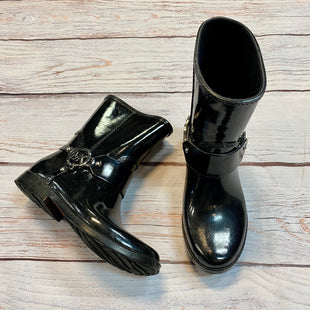 Primary Photo - BRAND: MICHAEL BY MICHAEL KORS STYLE: BOOTS ANKLE COLOR: BLACK SIZE: 6 OTHER INFO: RAINBOOTS SKU: 217-217155-4421