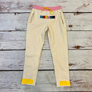 Primary Photo - BRAND:   CMC STYLE: PANTS COLOR: WHITE SIZE: L OTHER INFO: CHARLES JAY - PINK WAISTBAND YELLOW SKU: 217-217193-541
