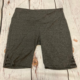 Primary Photo - BRAND:  CME STYLE: SHORTS COLOR: GREY SIZE: 3X OTHER INFO: READY TO GO - CUTOUTS SKU: 217-217104-39217
