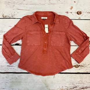 Primary Photo - BRAND: PILCRO STYLE: TOP LONG SLEEVE COLOR: RED SIZE: PETITE  MEDIUM OTHER INFO: NEW! SKU: 217-217104-37170