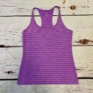 Primary Photo - BRAND: GAPFIT STYLE: ATHLETIC TANK TOP COLOR: PURPLE SIZE: M OTHER INFO: WHITE STRIPE SKU: 217-217193-299