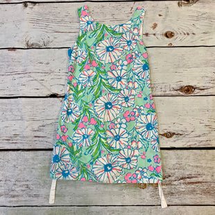 Primary Photo - BRAND: LILLY PULITZER STYLE: DRESS SHORT SLEEVELESS COLOR: FLORAL SIZE: 10 OTHER INFO: GRN/WHT/PNK/BLU SKU: 217-217144-9755