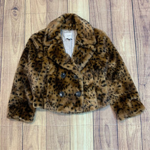 Primary Photo - BRAND: LOFT STYLE: JACKET OUTDOOR COLOR: ANIMAL PRINT SIZE: S SKU: 217-217155-4263