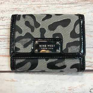 Primary Photo - BRAND: NINE WEST STYLE: WALLET COLOR: ANIMAL PRINT SIZE: SMALL OTHER INFO: NEW! SKU: 217-217153-7313