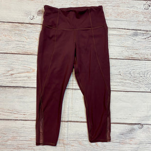 Primary Photo - BRAND: ATHLETA STYLE: ATHLETIC CAPRIS COLOR: MAROON SIZE: XS OTHER INFO: PETITE SKU: 217-217153-8326