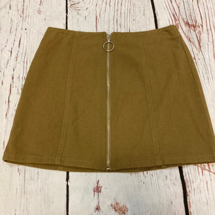 Primary Photo - BRAND:    CHLOE AND KATIESTYLE: SKIRT COLOR: MUSTARD SIZE: M OTHER INFO: CHLOE AND KATIE - SKU: 217-217196-712