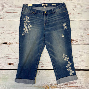 Primary Photo - BRAND: VINTAGE AMERICA STYLE: CAPRIS COLOR: DENIM SIZE: 12 OTHER INFO: NWT SKU: 217-217196-679