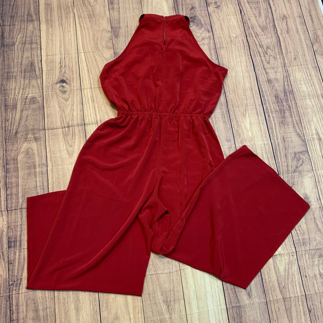 Photo #1 - BRAND: LONDON TIMES <BR>STYLE: DRESS LONG SLEEVELESS <BR>COLOR: RED <BR>SIZE: L <BR>OTHER INFO: NEW! <BR>SKU: 217-217182-6315