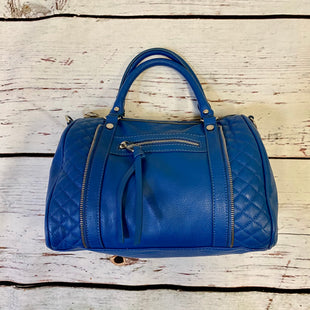 Primary Photo - BRAND: STEVE MADDEN STYLE: HANDBAG COLOR: BLUE SIZE: MEDIUM SKU: 217-217182-8871