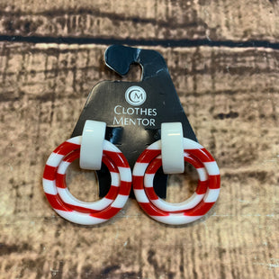 Primary Photo - BRAND:  STYLE: EARRINGS COLOR: RED WHITE OTHER INFO: EARRINGS - SKU: 217-21717-13714