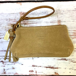 Primary Photo - BRAND: COACH STYLE: WRISTLET COLOR: TAN OTHER INFO: TASSLE SKU: 217-217193-217