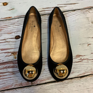 Primary Photo - BRAND: KATE SPADE STYLE: SHOES FLATS COLOR: BLACK SIZE: 6.5 OTHER INFO: GOLD TOE SKU: 217-217104-37804
