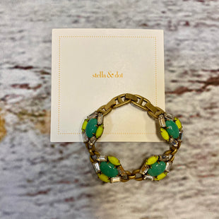 Primary Photo - BRAND: STELLA AND DOT STYLE: BRACELET OTHER INFO: YELLOW TEAL SKU: 217-217104-39410