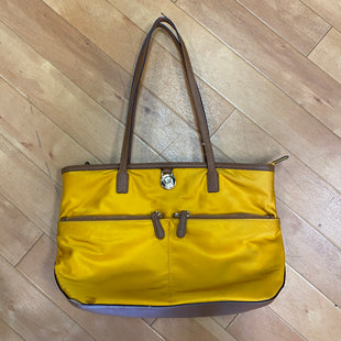 Primary Photo - BRAND: MICHAEL BY MICHAEL KORS STYLE: HANDBAG DESIGNER COLOR: MUSTARD SIZE: LARGE SKU: 217-17850-8808