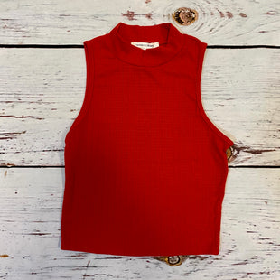 Primary Photo - BRAND: CAUTION TO THE WIND STYLE: TOP SLEEVELESS COLOR: RED SIZE: S SKU: 217-217196-698