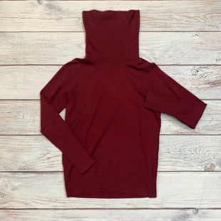 Primary Photo - BRAND: ANN TAYLOR LOFT STYLE: SWEATER LIGHTWEIGHT COLOR: MAROON SIZE: M SKU: 217-217104-31833