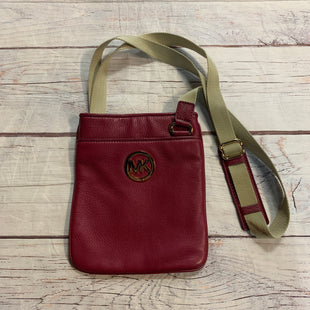 Primary Photo - BRAND: MICHAEL BY MICHAEL KORS STYLE: HANDBAG DESIGNER COLOR: RASPBERRY SIZE: SMALL OTHER INFO: X-BODY/NYLON STRAP SKU: 217-217144-9428