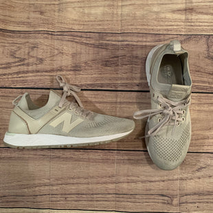 Primary Photo - BRAND: NEW BALANCE STYLE: SHOES ATHLETIC COLOR: CREAM SIZE: 7.5 OTHER INFO: AS IS SKU: 217-217104-34521