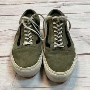 Primary Photo - BRAND: VANS STYLE: SHOES ATHLETIC COLOR: OLIVE SIZE: 8.5 SKU: 217-217153-8345