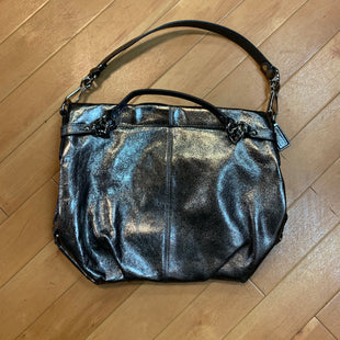 Primary Photo - BRAND: COACH STYLE: HANDBAG DESIGNER COLOR: SILVER SIZE: MEDIUM SKU: 217-217182-3672