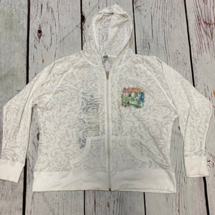 Primary Photo - BRAND:    TOPPY STYLE: ATHLETIC JACKET COLOR: WHITE SIZE: 2X OTHER INFO: TOPPY - SKU: 217-217182-9619
