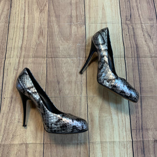 Primary Photo - BRAND: GUISEPPE ZANNOTI DESIGNS STYLE: SHOES HIGH HEEL COLOR: SNAKESKIN PRINT SIZE: 9.5 SKU: 217-217182-6317